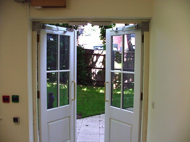 Automatic door openers for disabled ridley electronics